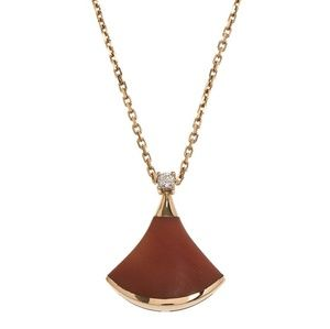 BVLGARI S925 18kt Rose Gold Necklace